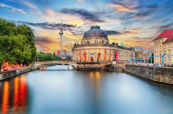 Museum Island in Berlin, Germany