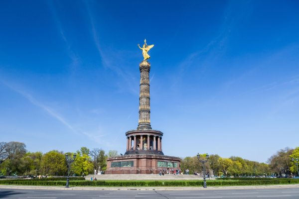 Tiergarten Victory Column in Berlin