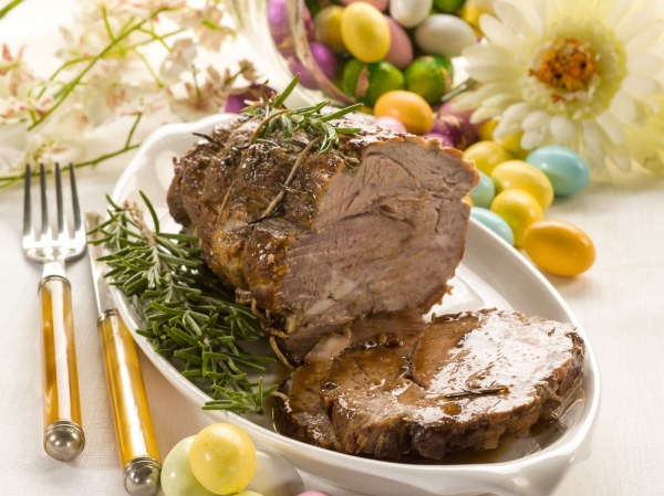 Easter Lunch - Roast Lamb
