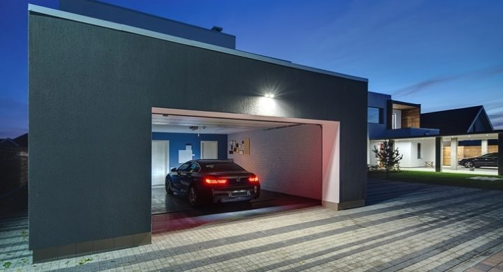 Make money investing in garages