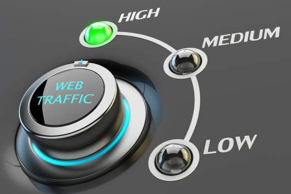 Web traffic gauge