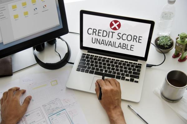 Credit Score unavailable on laptop