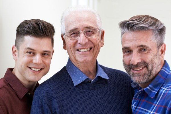 Portrait of 3 generations