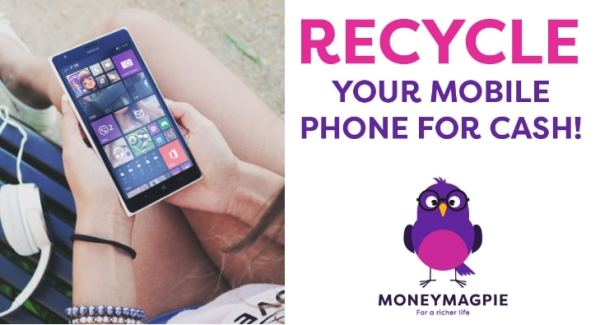 Recycle Your Old Mobile Phone For Cash MoneyMagpie Banner