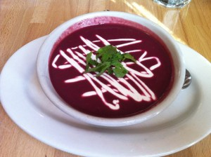 beetroot leaves soup