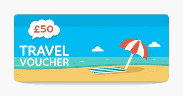 £50 Travel voucher