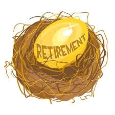 into your pension