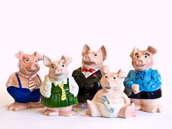NatWest collectable piggy banks