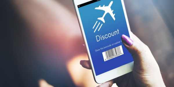 Airport discount on smartphone