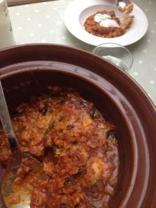 Chorizo sausage stew, photo: Sarah Lockett