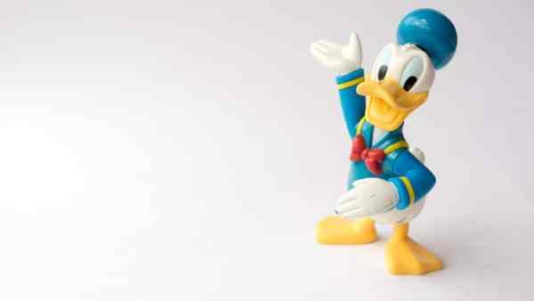 Disney Daffy duck figurine