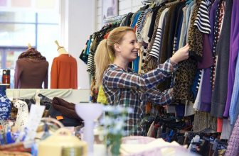 Make money selling charity shop items for a profit