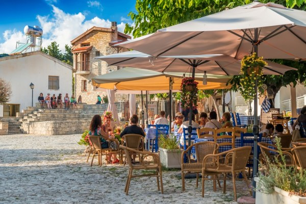 Cafe in Cyprus