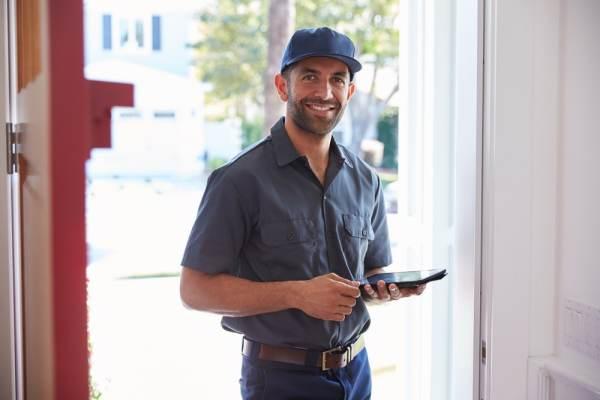 Doorstep courier