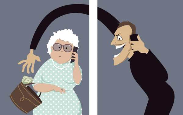 Elderly cold caller victim