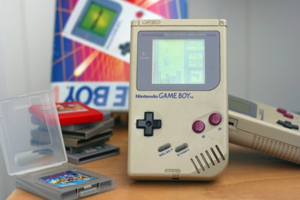 Game Boy gaming console and games