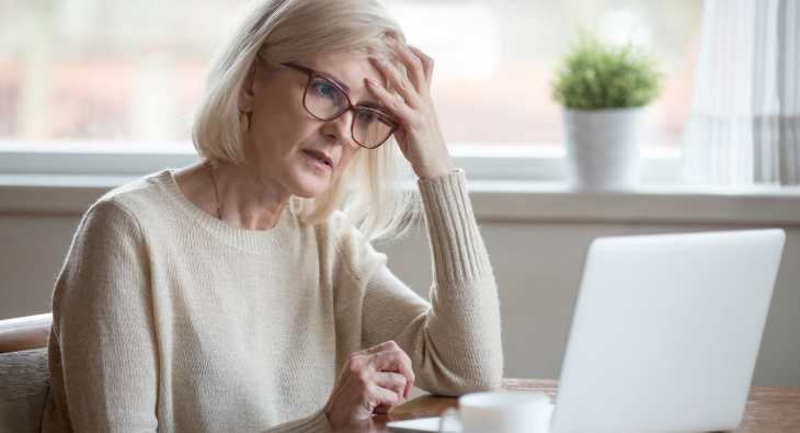 Help! I'm over 55 and in debt
