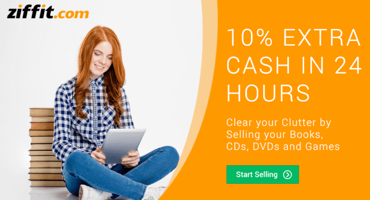 Make quick money selling your used items on Ziffit