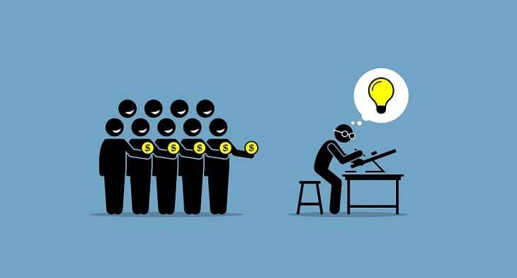 Social Lending graphic