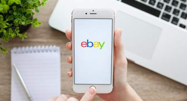 ebay app on smartphone