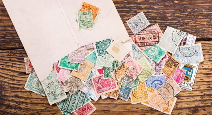 Envelope of stamps
