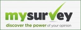 MySurvey, a paid online survey website.