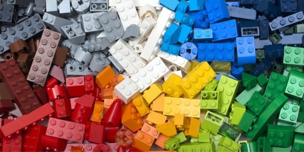 Colourful Lego