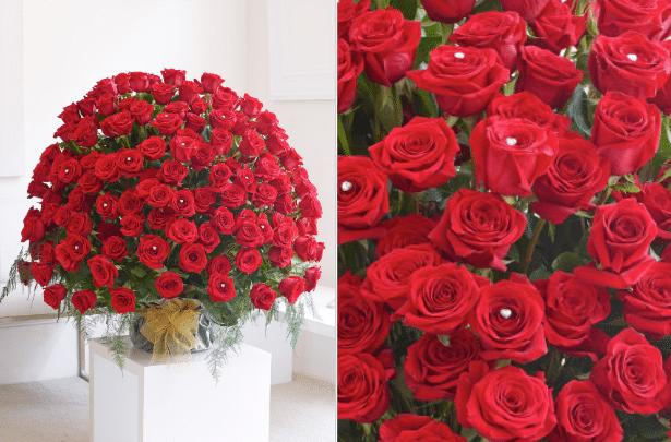 Interflora 200 red rose bouquet
