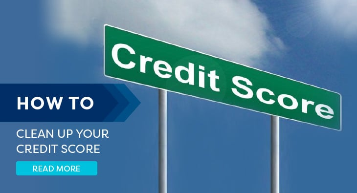 clean up your credit score