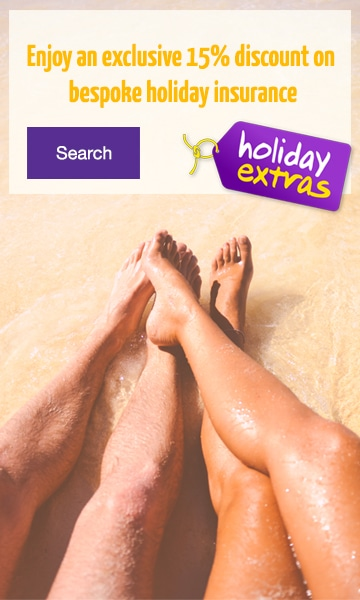 Holiday Extras 15% Discount