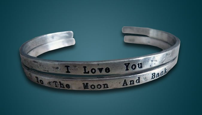 Get a Moon and Back Bangle for just £9.99