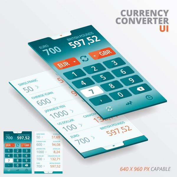 Currency conversion app