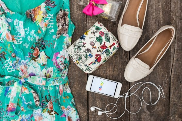 Summer clothes and eBay app