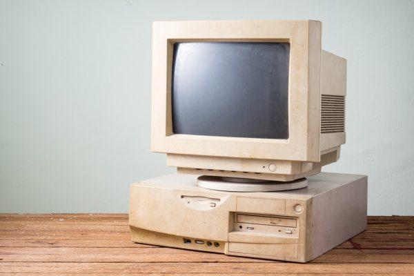 Old vintage computer