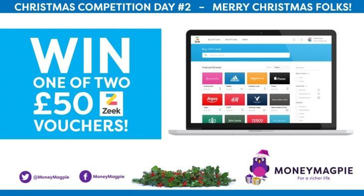Win one of two £50 Zeek vouchers