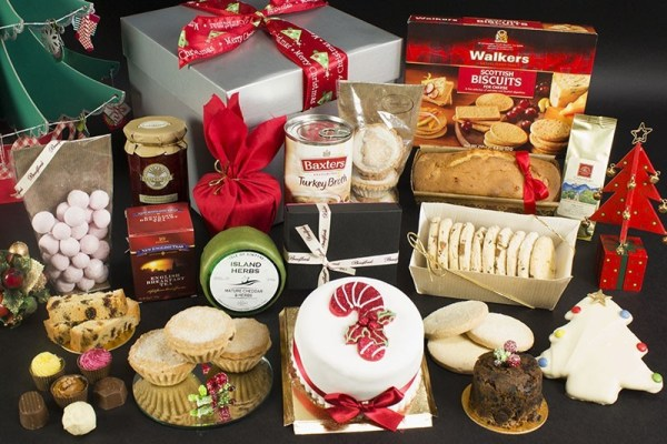Bradford Bakers Santa's Treat Box
