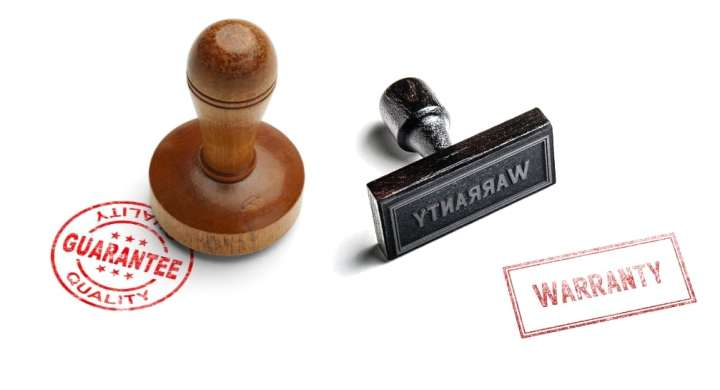 Guarantee and warranty stamps