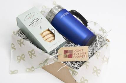 christmas hampers, tea pigs, thermos