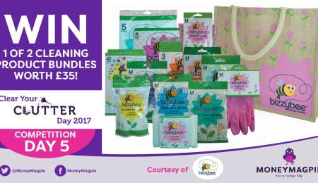 Day 5 – Win 1 of 2 cleaning bundles worth...