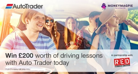 Win £200 worth of driving lessons with...