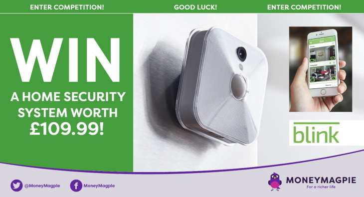 Win a Blink home security system worth £109.99