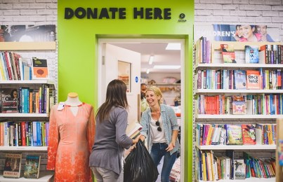 Why you should de-clutter and donate this...