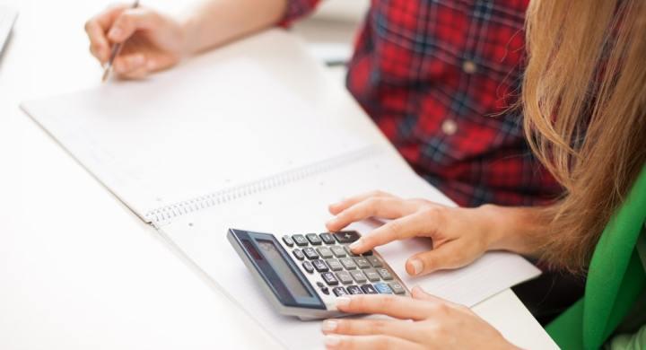 Friend helping friend with finances