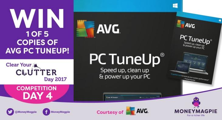 Day 5 - Win 1 of 5 copies of AVG PC Tuneup