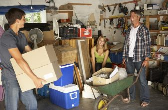 How to de-clutter your garage