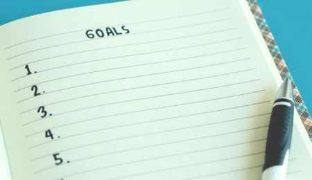 The importance of setting goals – and...