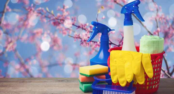 Spring cleaning helps finances as well as wellbeing