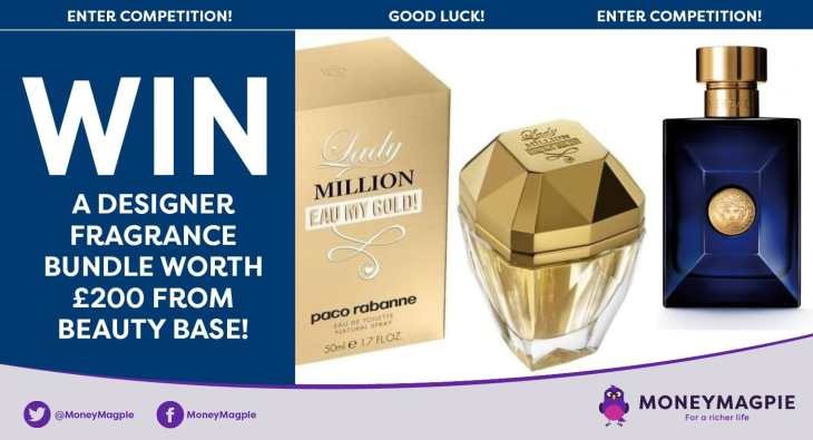 Win a designer fragrance bundle worth £200 from beauty base