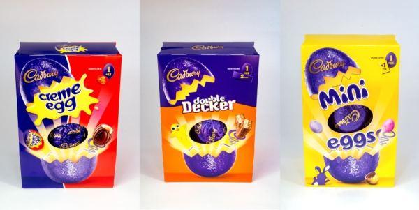 Cadburys Chocolate Easter Eggs