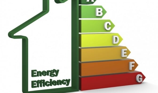 use energy-efficient appliances and install insulation to save cash